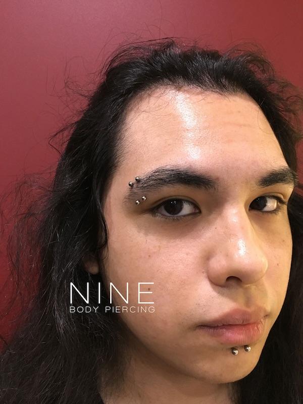 Piercing Facial Eyebrowbridge
